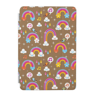 cute rainbows pattern iPad mini cover