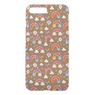cute rainbows pattern iPhone 8 plus/7 plus case