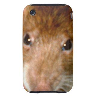 Cute Rat Face iPhone 3 Case