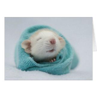 Cute Rat Greeting Card