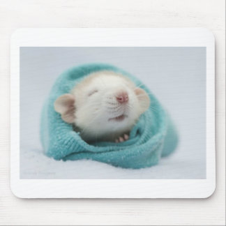 Cute Rat Mouse Pad