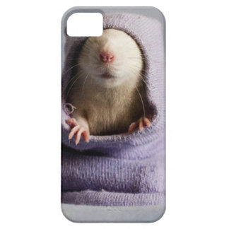 cute rat peek a boo iPhone 5 covers