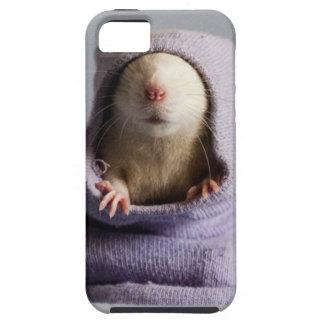 cute rat peek a boo iPhone 5 cases
