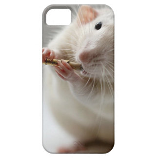 Cute rat playing flute case for the iPhone 5