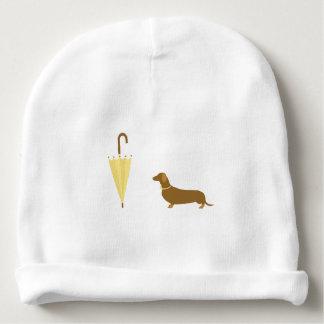 Cute Ready For Dog Walk Baby Beanie Hat
