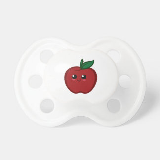 Cute Red Apple Pacifiers