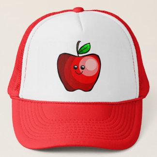 Cute Red Apple Trucker Hat