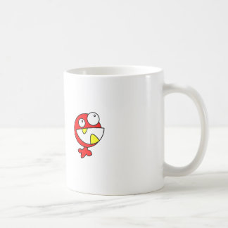Cute Red Baby Monster Mugs