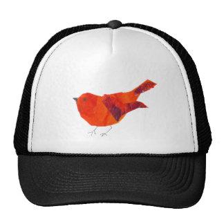 Cute Red Bird Cap