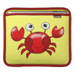 Cute red crab