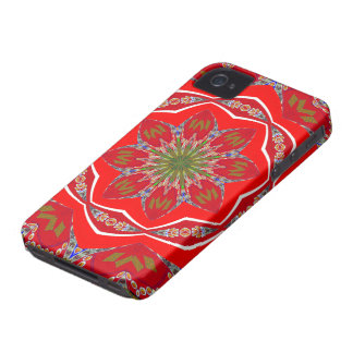 Cute Red Designer iPhone 4 4S Case Women s Gift iPhone 4 Case-Mate Cases