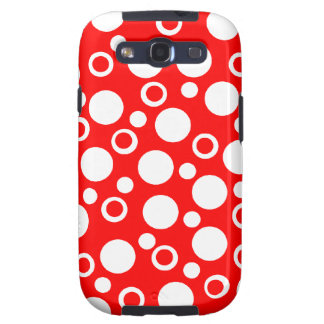 Cute Red Designer Samsung Galaxy Case Women s Gift Galaxy SIII Covers