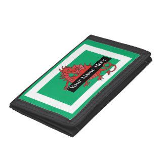 Cute Red Dragon Trifold Wallet to Personalize