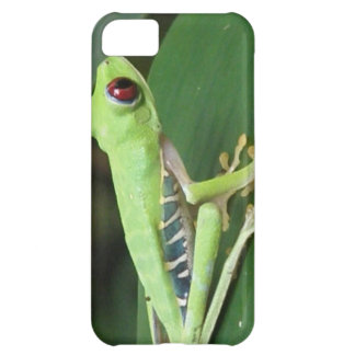 Cute Red Eyed Tree Frog iPhone 5C Case