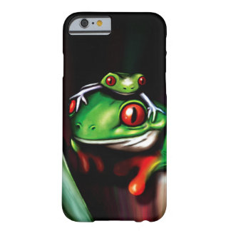 Cute Red Eyed Tree Frogs Barely There iPhone 6 Case