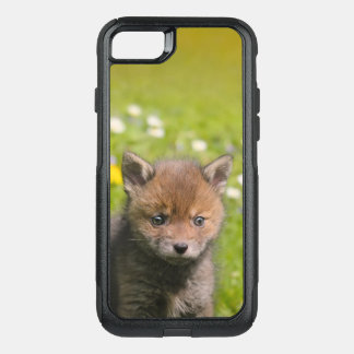 Cute Red Fox Cub Wild Baby Animal Photo - on OtterBox Commuter iPhone 8/7 Case