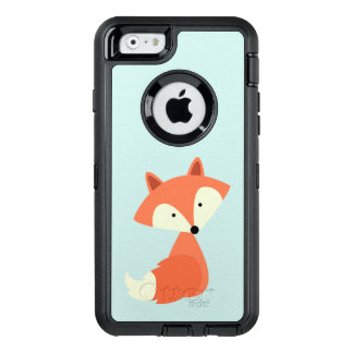 Cute Red Fox OtterBox Defender iPhone Case
