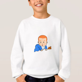 Cute red-haired baby t shirt