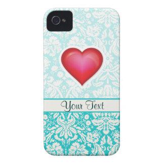 Cute Red Heart iPhone 4 Case-Mate Cases