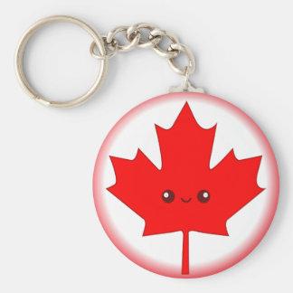 Cute Red Maple Leaf Key Chain