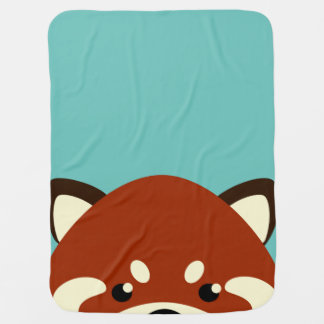 Cute Red Panda Baby Blanket