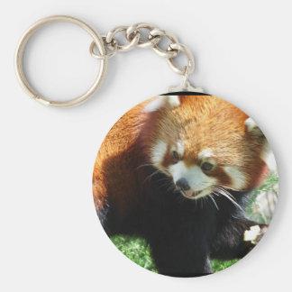 Cute Red Panda Bear Keychain
