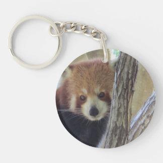 Cute Red Panda Key Ring