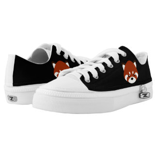 Cute Red Panda Low Tops