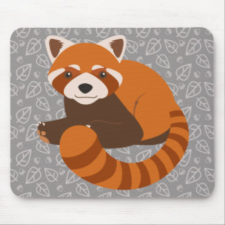 Cute Red Panda Mouse Pad
