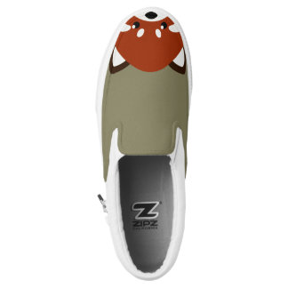 Cute Red Panda Slip-On Shoes