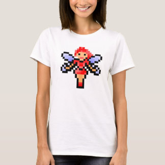 Cute red pixel art fairy T-Shirt