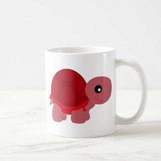 Cute Red Tortoise Coffee Mug