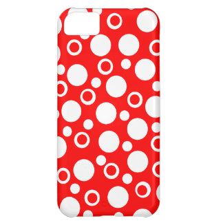 Cute Red White Dots iPhone Case Women s Gift iPhone 5C Cover