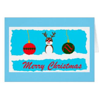 Cute Reindeer Card