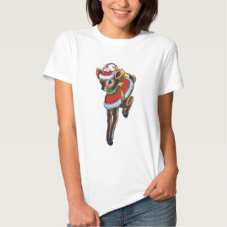Cute Reindeer Christmas Shirt