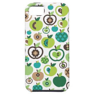 Cute retro apple flower pattern design iPhone 5 case