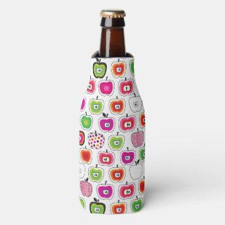 Cute retro apple pattern bottle cooler