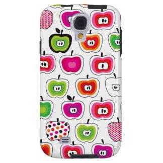 Cute retro apple pattern galaxy s4 case