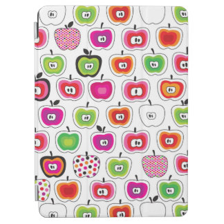 Cute retro apple pattern iPad air cover