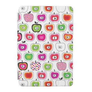 Cute retro apple pattern iPad mini cover