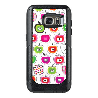 Cute retro apple pattern OtterBox samsung galaxy s7 case