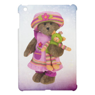 Cute Retro Bear with Cuddly Toy iPad Mini Case
