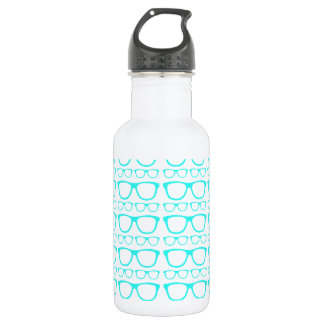 Cute Retro Eyeglass Hipster 532 Ml Water Bottle