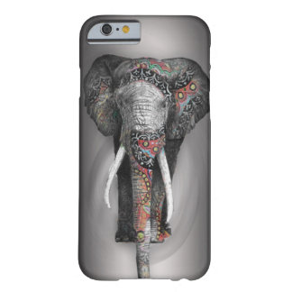 Cute Retro Flower Elephant Barely There iPhone 6 Case