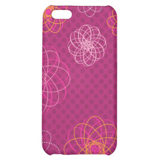 Cute retro flower pattern iphone case iPhone 5C cover
