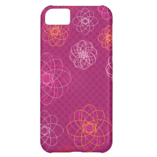 Cute retro flower pattern iphone case iPhone 5C case