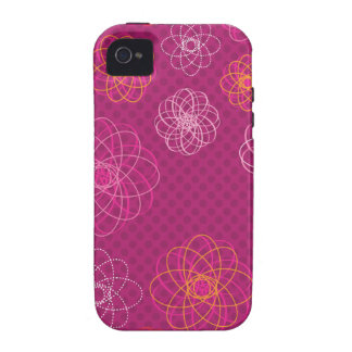 Cute retro flower pattern iphone case iPhone 4 covers