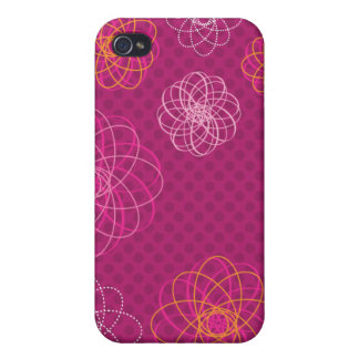 Cute retro flower pattern iphone case iPhone 4 cases