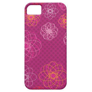 Cute retro flower pattern iphone case case for the iPhone 5