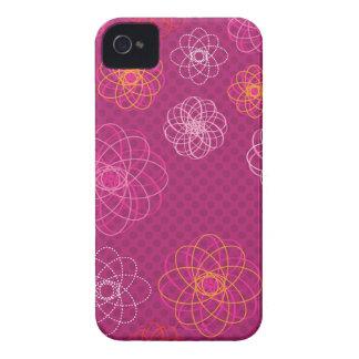 Cute retro flower pattern iphone case Case-Mate iPhone 4 case